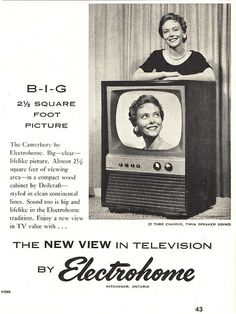 Electrohome television