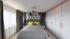 Bedroom design by Mialmi Design Bedroom, Bedroom Inspo, Bedroom Decor, Yellow Interior, Cozy Room, Modern Contemporary, Bedrooms, Interior Design, House