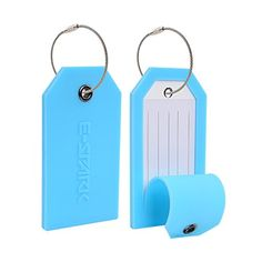 The importance of privacy luggage tags may not be obvious. However, these luggage tags hide your name, as well as other personal details from the eye of a noisy stranger at any time.