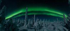 Vuoden Luontokuva 2014 / Kaksoiskaari. Markku Tano #finland #winter #auroraborealis #sky