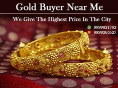If you are looking for gold jewellery buyers then you are at the right place, we are the most trustable gold buyers in Delhi NCR.  We are 24x7 available. We also provide you home pickup service.