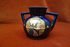 HB Quimper Odetta - aardewerk Art Deco vaas