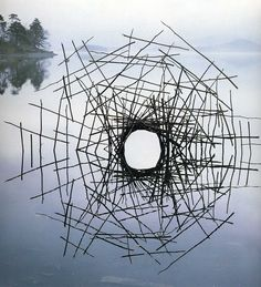 """#installation #art - by Andy Goldsworthy """"We often forget that we are nature. Nature is not something separate from us. So when we say that we have lost our connection to nature, we've lost our connection to ourselves."""" — Andy Goldsworthy"""