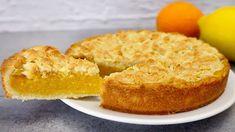 Se hai 1 limone e 1 arancia, prepara questa deliziosa torta # 282 - YouTube Non Chocolate Desserts, Kinds Of Desserts, No Bake Desserts, Lemon Recipes, Sweets Recipes, Cake Recipes, Cooking Recipes, Poke Cakes, Cupcake Cakes