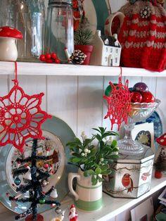 A shelf for the holidays