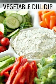 Vegetable Dill Dip Six Sisters' Stuff With Only 6 Ingredients, This Homemade Vegetable Dill Dip Is Going To Be Your Favorite Dish To Serve With Fresh Vegetables. It's Also Delicious Served With Chips Or Crackers. Dill Dip Recipes, Vegetable Dips, Veggie Tray, Appetizer Recipes, Vegetable Appetizers, Homemade Vegetable Dip Recipe, Veggie Dip Recipes, Fresh Dill Dip Recipe, Sauces