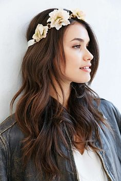 Posey Flower Crown - Urban Outfitters