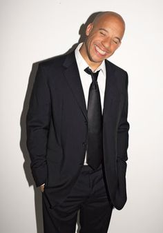 Vin Diesel... I could stare at him all day. And that smile? OMFG. #star #smile