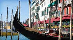 Like this picture if you would love to go on a Gondola ride in Venice, Italy!