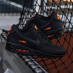 Catch those Team Orange hits on the Air Max 90 from All Nike Shoes, Hype Shoes, Sneakers Nike, Jd Sports, Nike Free Run, Nike Air Force 1, Nike Sportswear, Fresh Shoes, Air Max 90