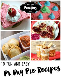 10 fun and easy Pi Day Pie recipes! Great for kids and adults!