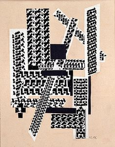 Hannah Höch: Reed Pen Collage, 1922