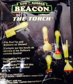 Rod-N-Bobb's TTG-1 green 4 MM The Torch Lightstick Bobber w/ Holders 1 Pk #RodNBobber