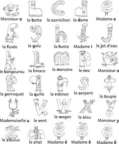 Coloriage Des Alphas A Imprimer - From the thousand photos online with regards to Coloriage Des Alphas A Imprimer, sele Alphabet Alpha, Alphabet For Kids, Montessori Activities, Toddler Activities, Fun Learning, Learning Activities, French Language Lessons, Jolly Phonics, Teaching French