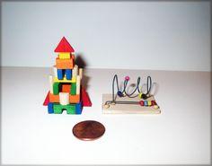 Vintage Dollhouse Krupick Amazing Precision Toy Lot