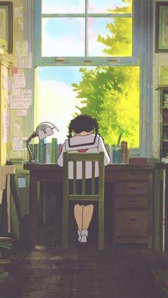 Studio ghibli,from up on poppy hill,hayao miyazaki Cartoon Wallpaper, Movies Wallpaper, Anime Scenery Wallpaper, Kawaii Wallpaper, Studio Ghibli Art, Studio Ghibli Movies, Hayao Miyazaki, Totoro, Animes Wallpapers