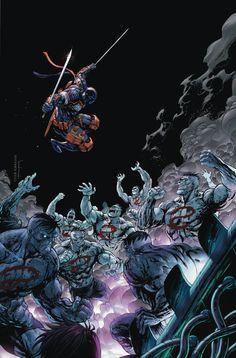 DEATHSTROKE #15 Written by JAMES BONNY Art and cover by TYLER KIRKHAM