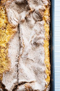 CINNAMON SUGAR BREAD is like eating a cinnamon & sugar cake donut but better. Easy & delicious this bread is ready to devour in an hour.