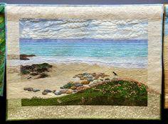 Sheena Norquay, Seapinks at Sandwick. Loch Lomond Quilt Show