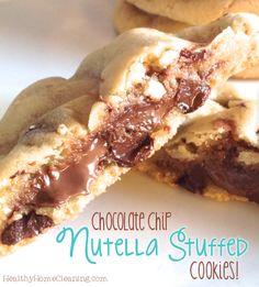 Nutella Stuffed Choc
