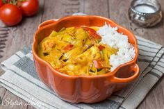 Vegetable curry with shrimp by Jamie Oliver