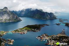 "Lofoten Islands, Norway - All travelers who've ventured within the Arctic Circle to the Norweigan archipelago of Lofoten agree -- the coastline will leave you speechless. To get a unique perspective of Lofoten's dramatic coast, head there during early June when the Artice Circle's famous ""midnight sun"" keeps the area illuminated 24-hours a day. (Photo by Cochise)"