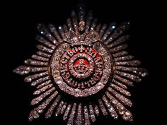 Russian Diamond Star of the Grand Class of the Order of St Catherine.
