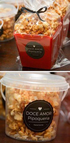 Vender Pipoca Gourmet - Veja as melhores receitas de pipoca doce gourmet para fazer e vender! #pipoca #gourmet #receita #recipe #dessert #popcorn Popcorn Packaging, Cookie Packaging, Popcorn Gift, Gourmet Popcorn, Experiment, Yummy Cakes, Meal Prep, Clean Eating, Goodies