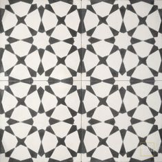 Powder Room Floor Tile- Snowbank C14-4- see a ton of other options at http://www.mosaichse.com/products_cement.php