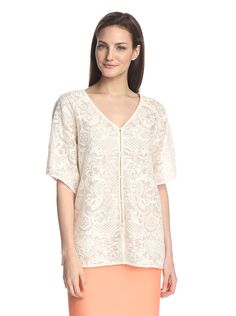 ADDISON Women's Lace Kimono Top at MYHABIT
