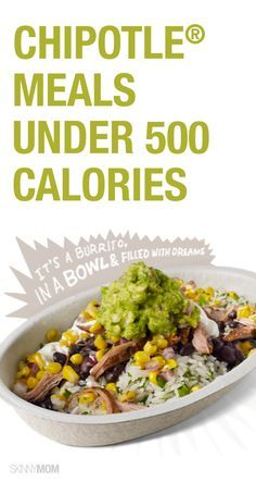 Check out these low calorie Chipotle meals.