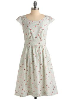 Get What You Dessert Dress in Cherries, #ModCloth  November 2011 [$49.99]