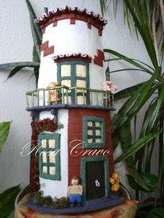 telhas decoradas infantil - Pesquisa Google
