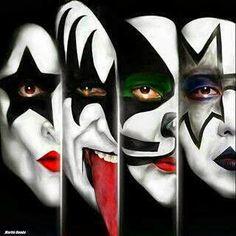 Kiss - Masters of Rock Kiss Rock Bands, Kiss Band, Rock And Roll Bands, Heavy Metal, Banda Kiss, Hot Band, Rockn Roll, Rock Posters, Gene Simmons