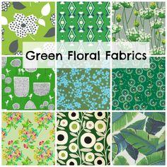 Favorite Green Fabrics