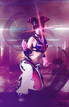 Street Fighter Juri by Zombie Bit Me