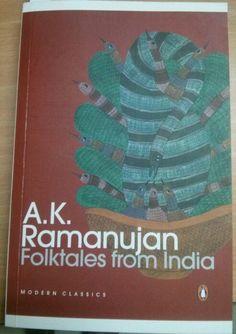 Folktales from India by AK Ramanujan