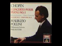 Maurizio Pollini plays Chopin´s Ballade No. 1 in G minor, op. 23