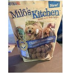 Milo's Kitchen Chicken Meatballs Dog Treat, 30 oz ** Quickly view this special dog product, click the image : Dog treats