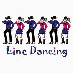 Line dance logo clipart Dance Music, Line Dance Songs, Dance Class, Dance Videos, Line Dancing Steps, Country Line Dancing, Country Music, Country Roads, Salsa Dancing