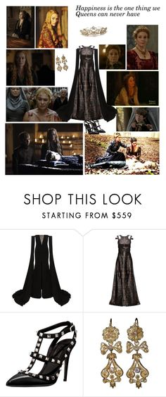 """""""Happiness is the one thing we  Queens can never have"""" by greerflower ❤ liked on Polyvore featuring Episode, BY SOPHIE, Alex Perry, Lattori and Valentino"""