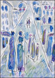 French Artists, Abstract Landscape, Literature, Ink, Canvas, Painting, Color, Literatura, Tela