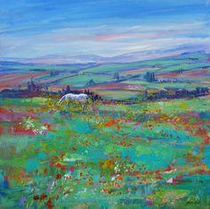 Joyce Borland; White Horse, Ronda, Andalucia.