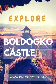 Boldogko Castle Hungary – Impressive Stronghold with a Whimsical View Boldogkő Castle is very impressive. Take a look at these stunning views of this stronghold that has been dropped on the top of a hill in an otherwise flat landscape. #Hungary #CastlesHungary #Boldogko #Europe via @onlyoncetoday