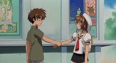 Syaoran & Sakura ♥: CardCaptor Sakura The Movie 2 ♥ Cardcaptor Sakura Clear Card, Sakura Card Captors, Sakura Kinomoto, Syaoran, Manga Anime, Animation, Anime Comics, Magical Girl, Anime Love
