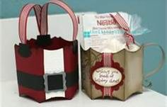 Homemade Christmas treat bags - Bing Images