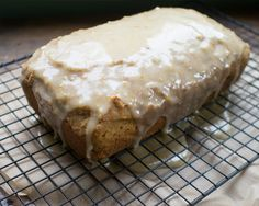 Sweet potato and orange pound cake