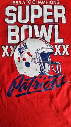 1567085e1502 new england patriots 1985 afc champs super bowl xx touch of gold tee 16 x  24.5