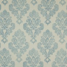 Sutton Fabric - Cowtan Design Library - this looks blue but it is actually aqua