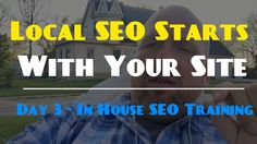 Learn How To Rank Locally With Onsite Changes To Your Website. Seo Training, Training Classes, Local Seo, Cool Tools, Software, Website, Learning, Youtube, Design